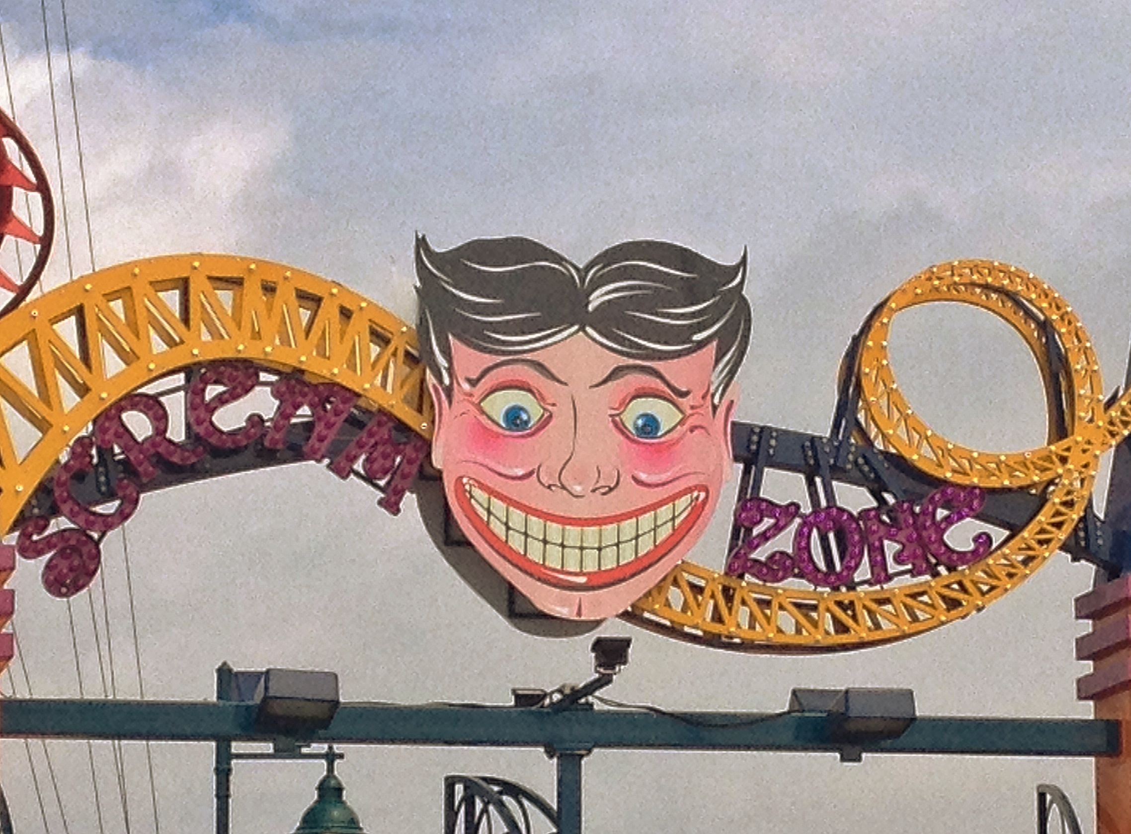 Coney Island's kind of scary