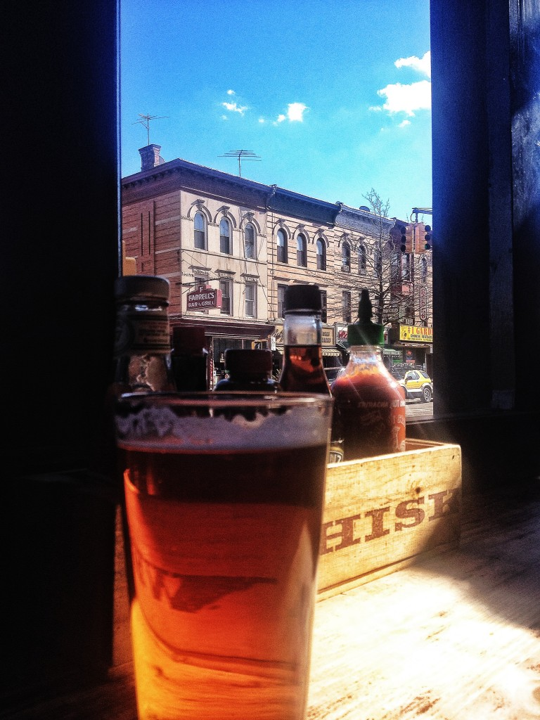 Open windows, blue skies, reggae and a hoppy IPA to welcome spring.