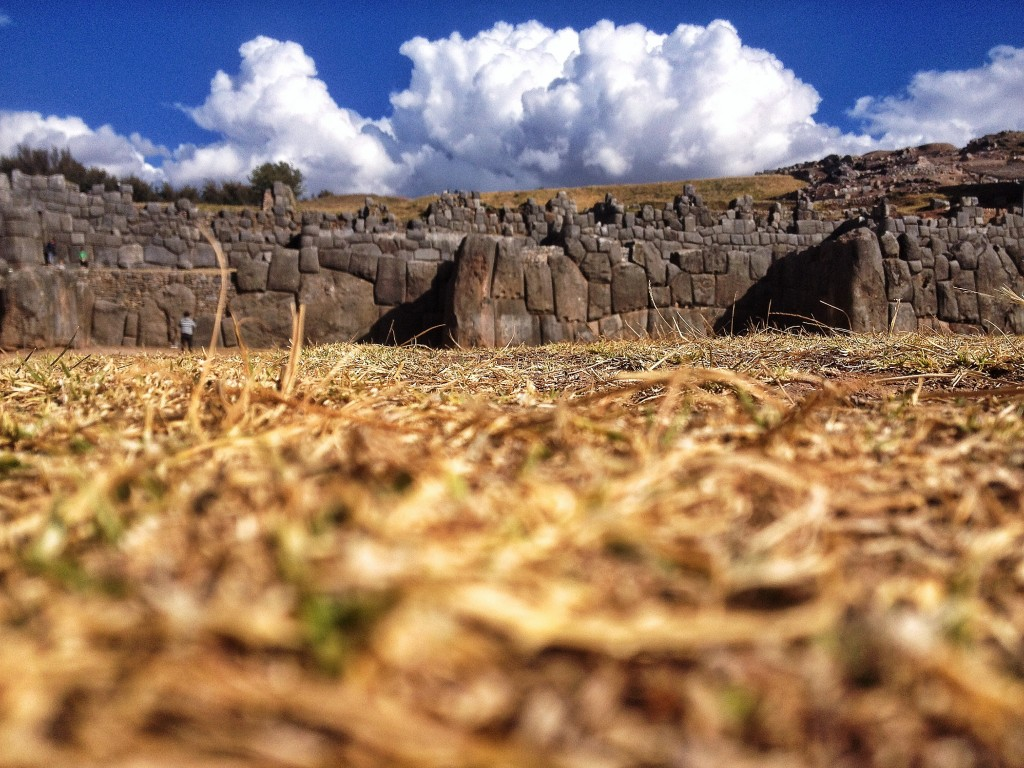 Our one day in Cusco was spent visiting some of the typical touristy areas -- here are the ruins at Saksaywaman.