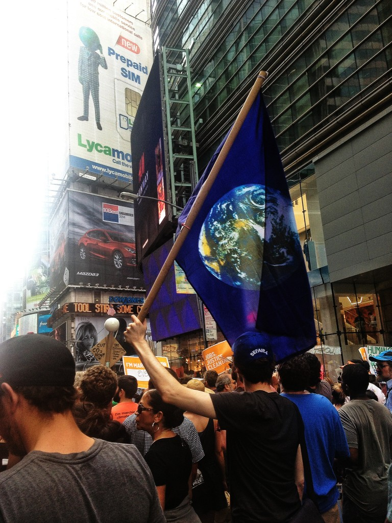 Times Square, Planet Earth