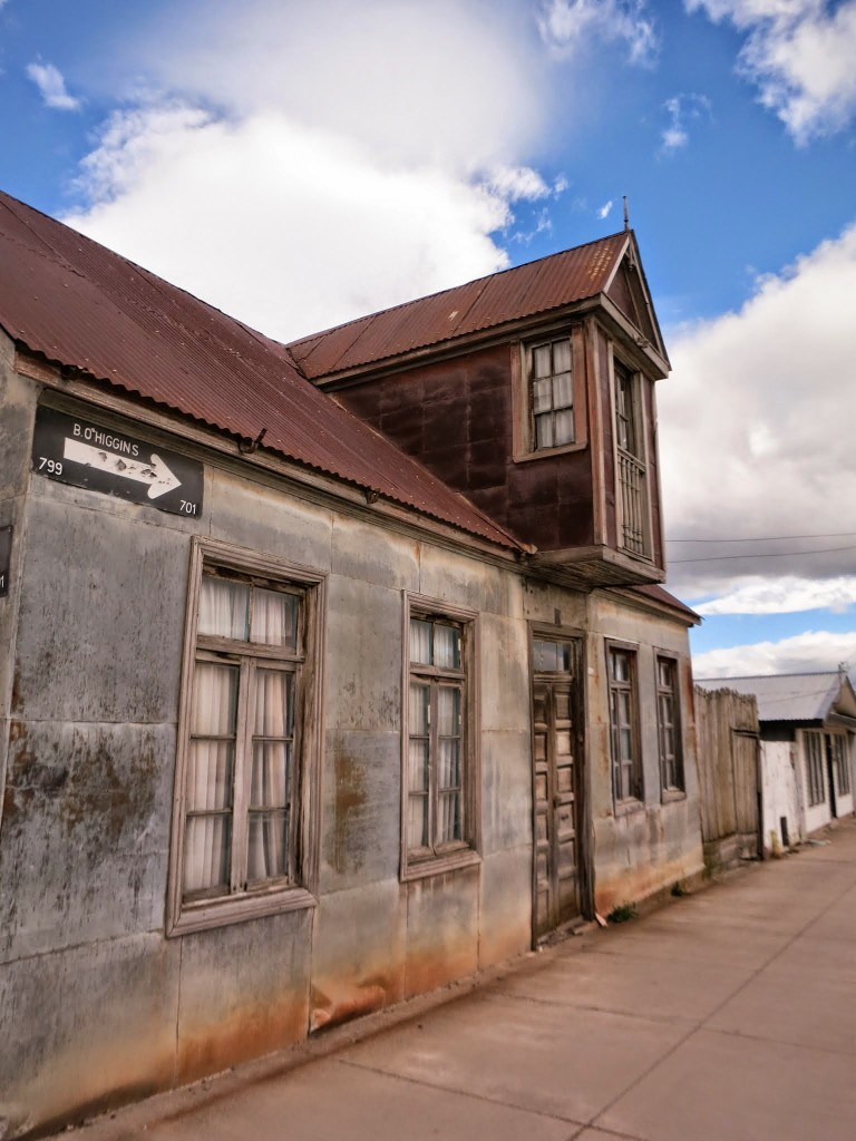 One of the houses in Punta Arenas