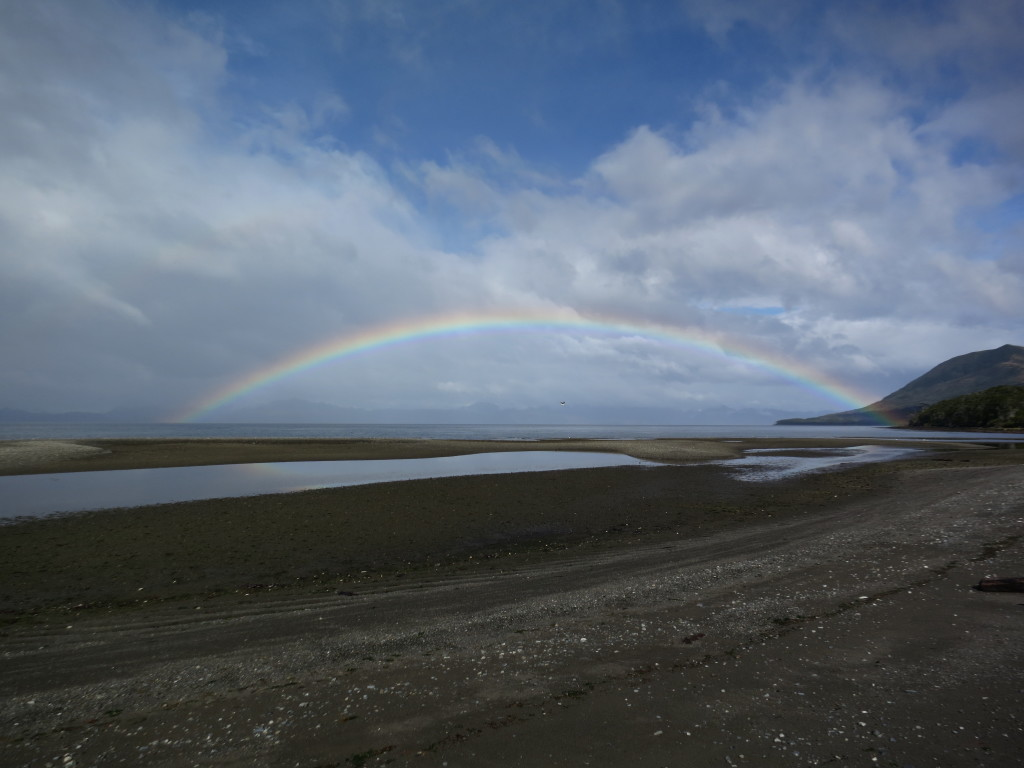 More rainbows in Patagonia than anywhere else