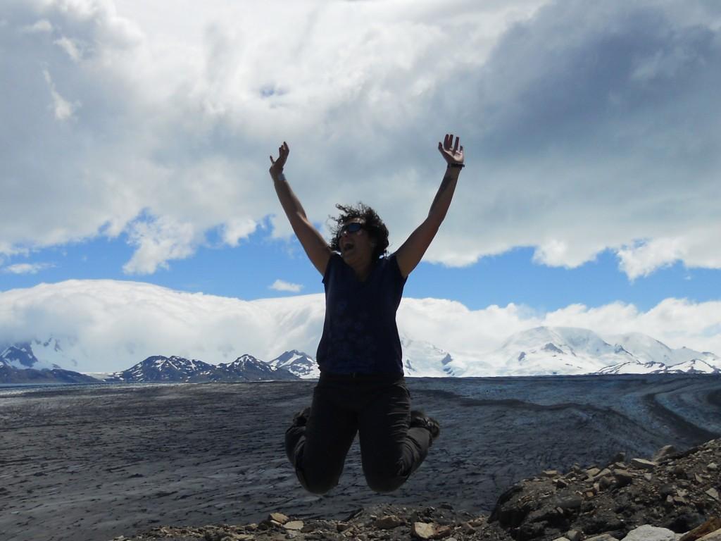 yay patagonia icefield!