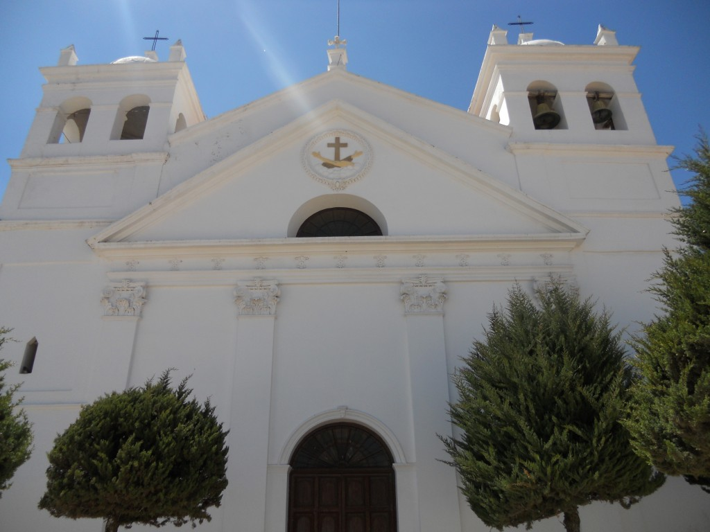 one of the churches in sucre