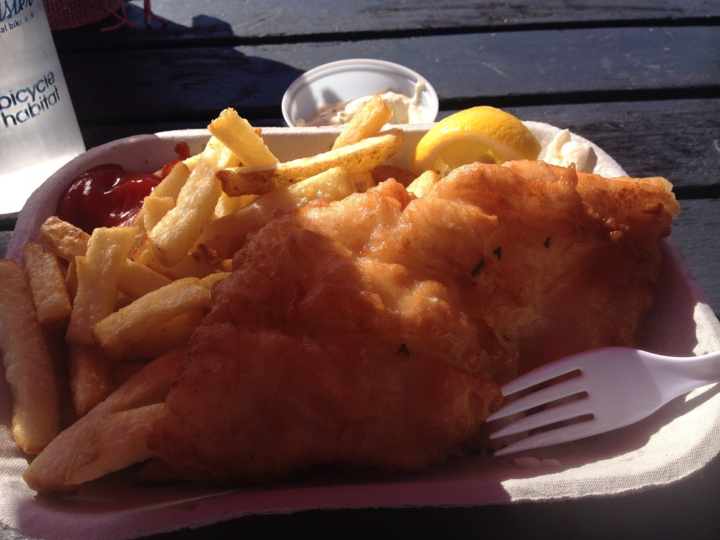 Hands down - the best fish and chips I have ever had - and probably the freshest. So. Good.